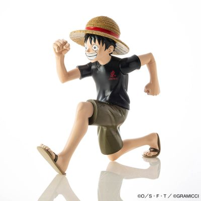 HKDSTOY GRAMICCI x ONE PIECE [Luffy 'Running man'] Black/Olive