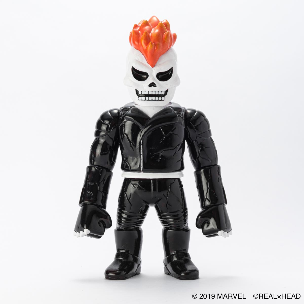 HKDSTOY × REAL×HEAD -MARVEL [GHOST RIDER] BLACK/ORANGE