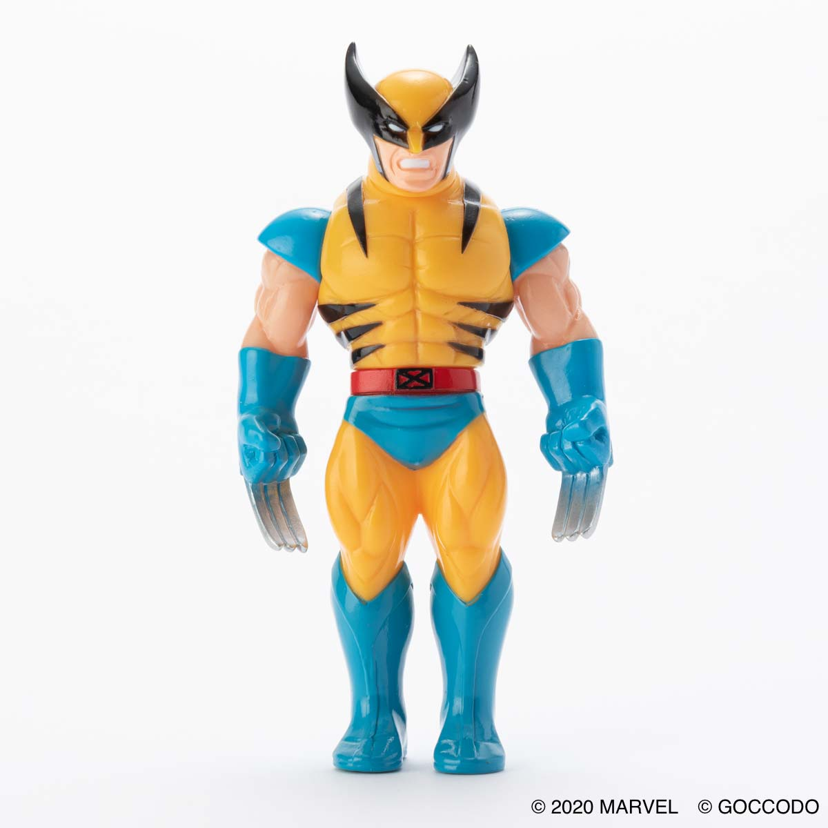 HKDSTOY × GOCCODO -MARVEL [WOLVERINE] YELLOW/BLUE
