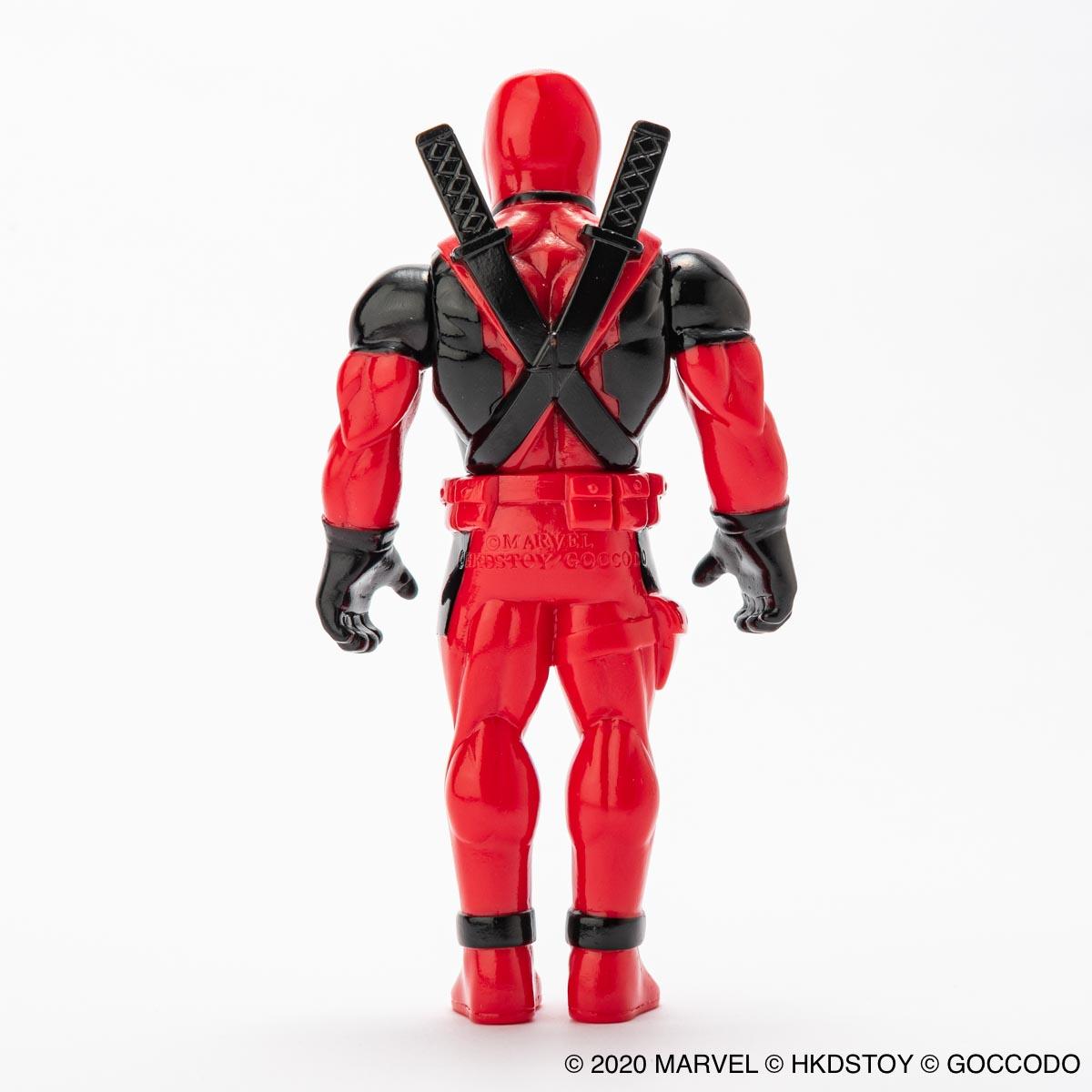 HKDSTOY × GOCCODO -MARVEL [DEADPOOL] RED/BLACK